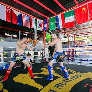 muaythai boxing ring