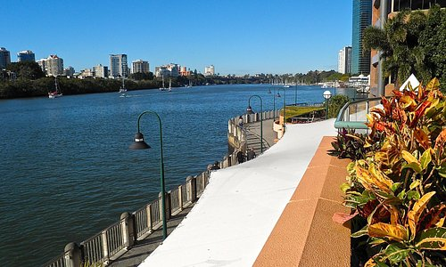 The Brisbane River walk