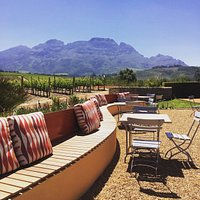 In the heart of Stellenbosch, a family owned vineyard with stunning views, modern winery with ta