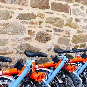 Treadly Bike Hire Fleet