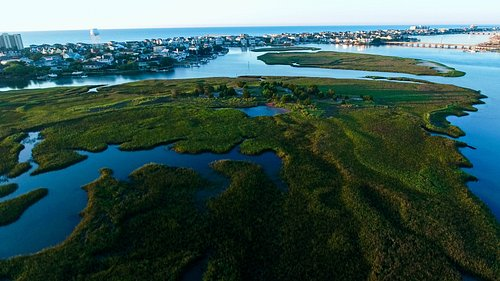 Top view of Wrightsville Beach