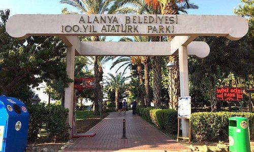 park girişi