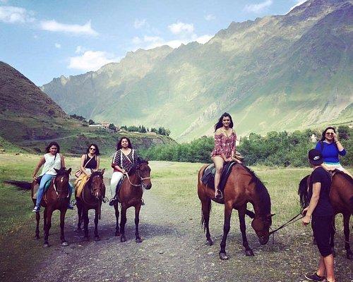 Horse Riding Kazbegi