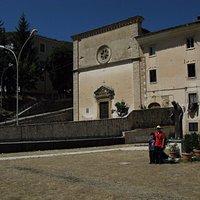 facciata e parte del convento