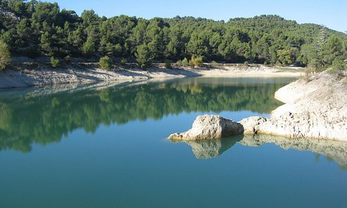 Vue du lac du Paty.
