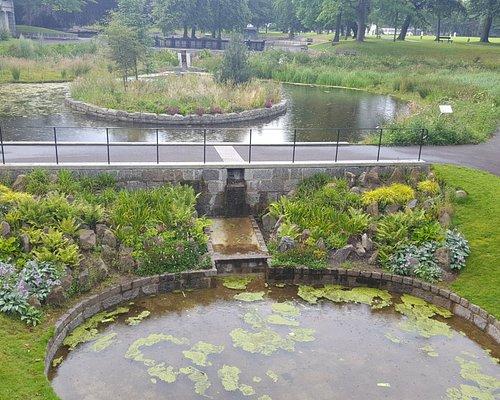 The ponds at Duthie Park