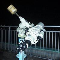 三郷市立北部図書館の天体望遠鏡