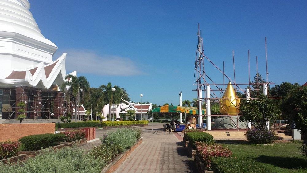 Wat Pa Ban Kho , Phra Mahathat Chedi, Udon Thani, Thailand