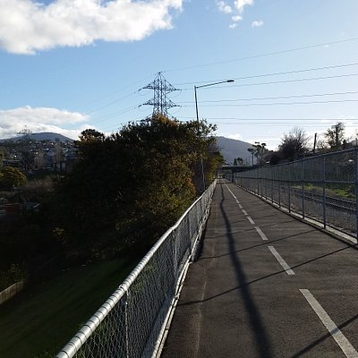 Views from the track. Can walk, jog or ride a bike.