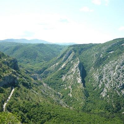 Pohled na rezervaci