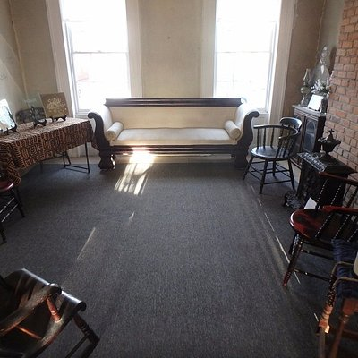 The Myers Residence front parlor - site of Vigilance Committee meetings.