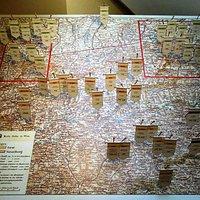 карта Тироля - здесь есть работы Якоба Цайлера