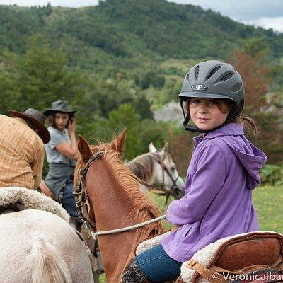 Contamos con caballos para todo tipo de jinetes, ademas del equipo de seguridad necesario!