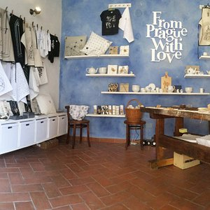 Shop in Loretánská