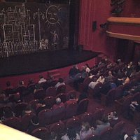 """The theatre hall, before the start of """"As You Like It"""""""