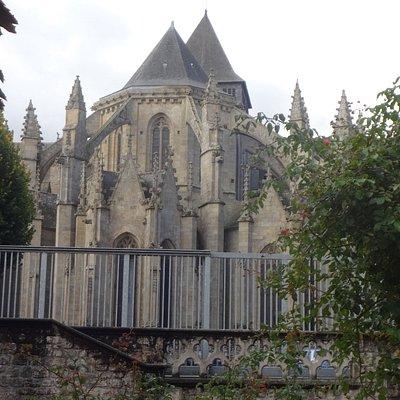 Eglise St Malo (centre historique de Dinan