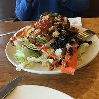Salat für eine Person als Vorspeise!!