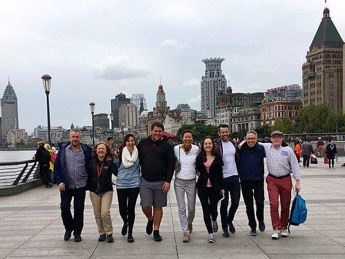 Great time in Bund Shanghai!