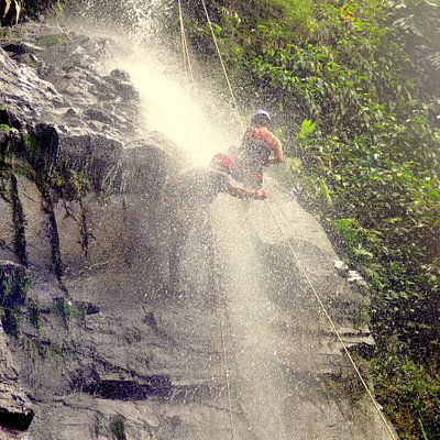 Waterfall Rappelling Feel The Adrenaline Rush!!