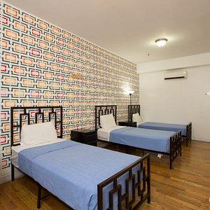 The 108 Three Bed Dorm at the NY Moore Hostel