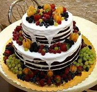 Fruit Wedding cake