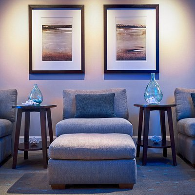 Find your center in our relaxation lounge.