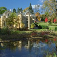 The Historic West Winds mansion and Bakken Museum on Lake Calhoun