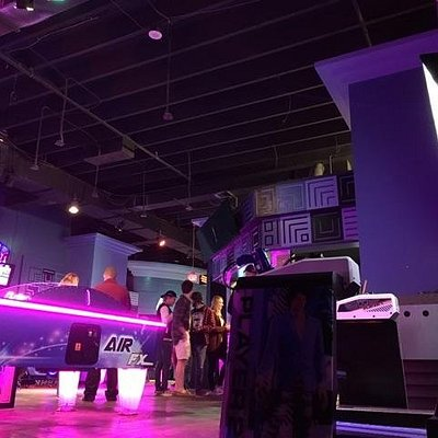 Ultrazone is a great place to play lasertag and the latest arcade games