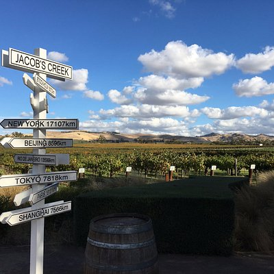 The most photographed sign in the Barossa!