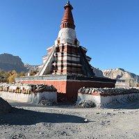 Choerten at Tholing Monastery