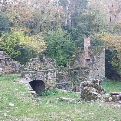 La boucle du Moulin du Saut - Le moulin du Tournefeuille