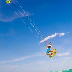 Kitesurfing Holbox