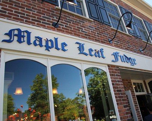 Maple Leaf Fudge