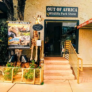 Out of Africa Wildlife Park, Store~Located at SR 89A Sedona Arizona. (928) 282-8114