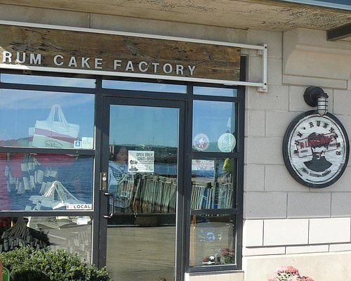 Rum Runners Rum Cake Factory store front