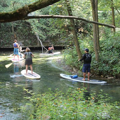 Our Lake Arthur Eco-Tour is great for all ages and skill levels.