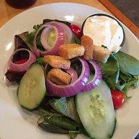 Salad was fresh