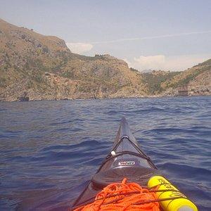 Baia di Ieranto in Kayak