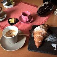 Brioches, caffè