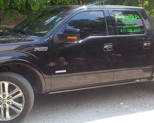 Only transportation service with a Ford F150.