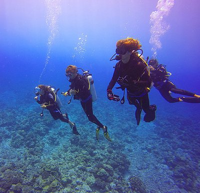 our dive group