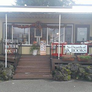 Quaint book shop