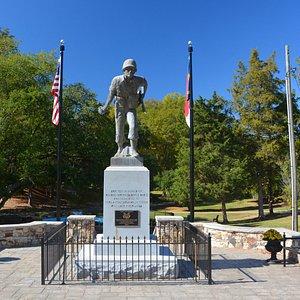 WW II Vet Monument