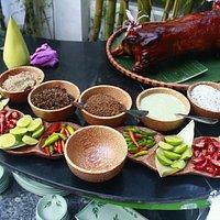 Viet bamboo food