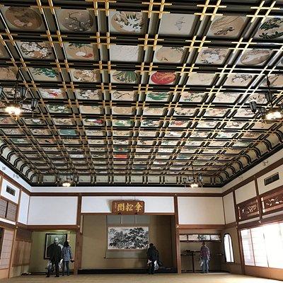 素晴らしい天井の絵