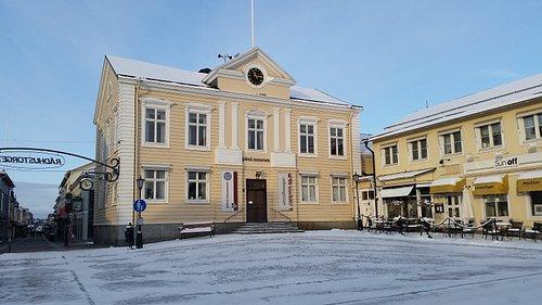 Museum during winter