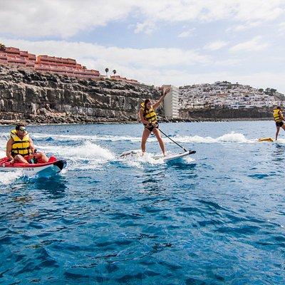 Jetsurf and kayak