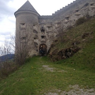 View at the castle