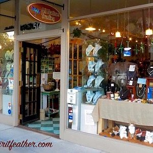 Our entrance on Main Street, downtown Hendersonville