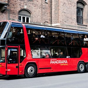 Our panoramic view bus